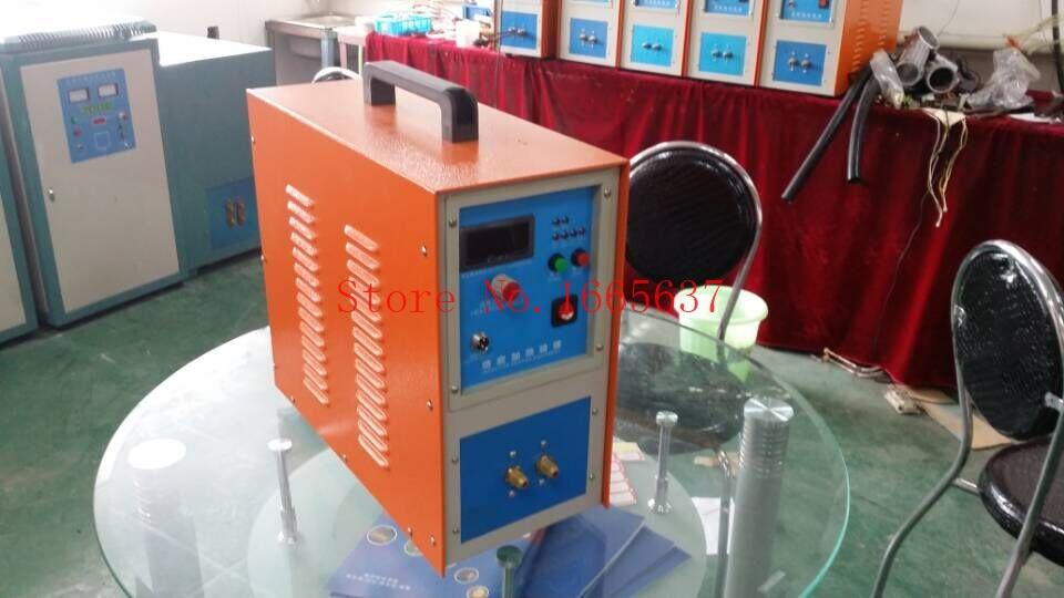 15KW 30-80 KHz Riscaldatore A Induzione Ad Alta Frequenza di Induzione Riscaldatore Forno LH-15A Un Anno di Garanzia