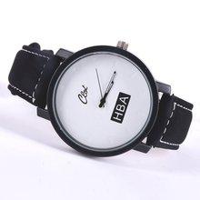women men Leather Strap Unisex Watches Men Quartz Women Dress Watch
