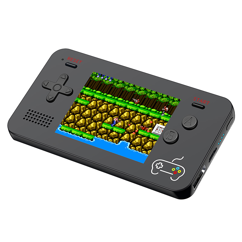 5000mA Portable Mobile Power Retro Handheld Game Console Built-in s 188 8-bit Retro Games for iPhone (2018 NEWS)