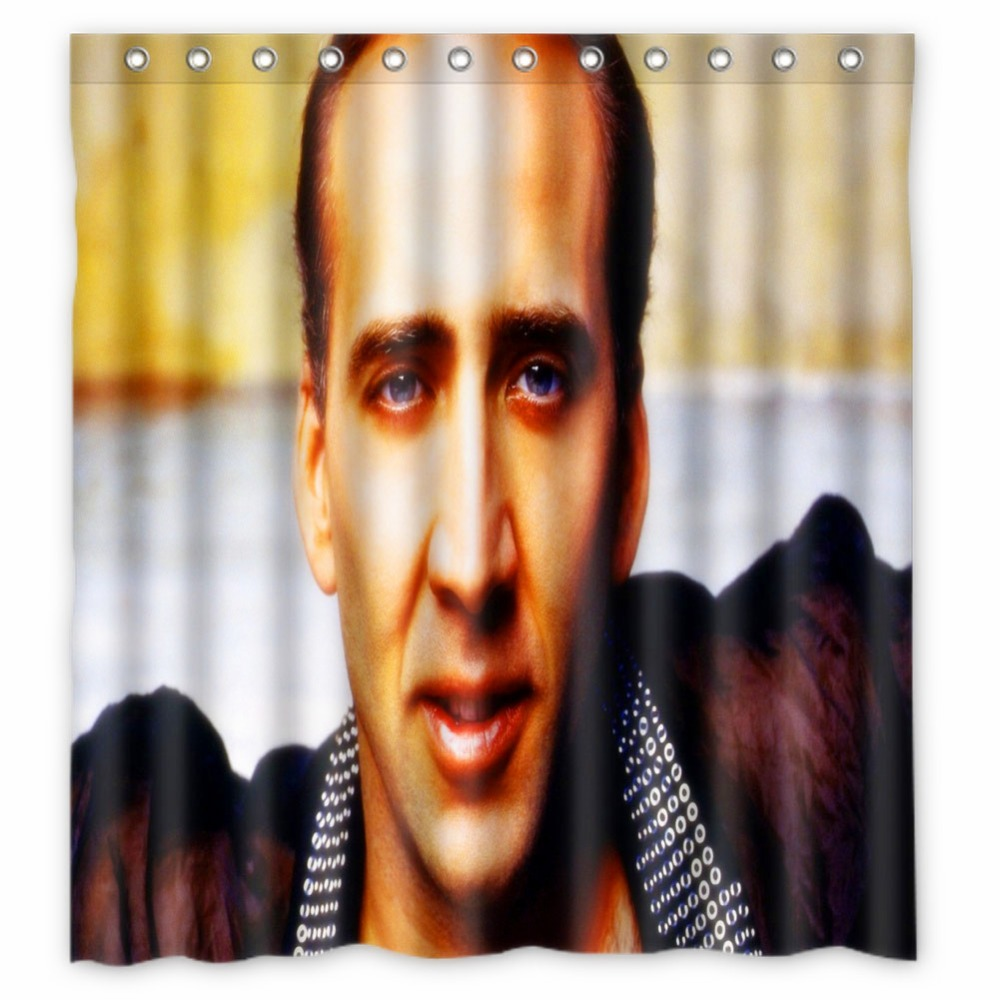 Anime Shower Curtain One Piece Dragon Ball Z Bleach Fairy Tail Naruto Together Nicolas Cage 66x72 Inch In Curtains From Home Garden
