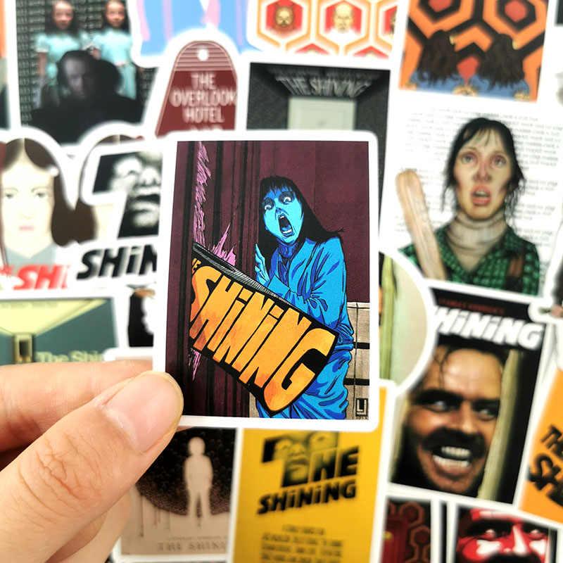 50 pçs horror o shining graffiti filme adesivos para carro portátil bagagem snowboard bicicleta phonecase decalque crianças brinquedo adesivo