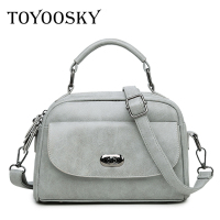High Quality Numbuck Leather Women Top Handle Bag Fashion Lock Women Shoulder Bag Shell Stlye Women