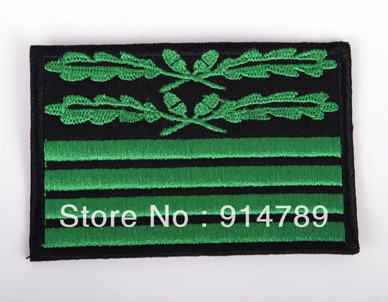 WW2 GERMAN CAMOUFLAGE RANK BRIGADIER GENERAL BADGE PATCH