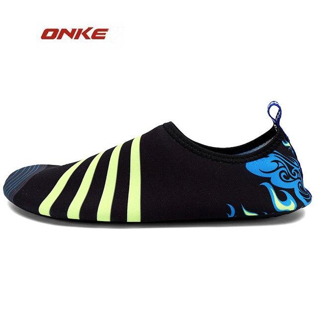 Männer Lady's Schnell Trockene Haut Schuhe Strand Tauchen Socken Yoga Schwimmen Wasser Barfuß Schuhe Rosa 7. M3yHW