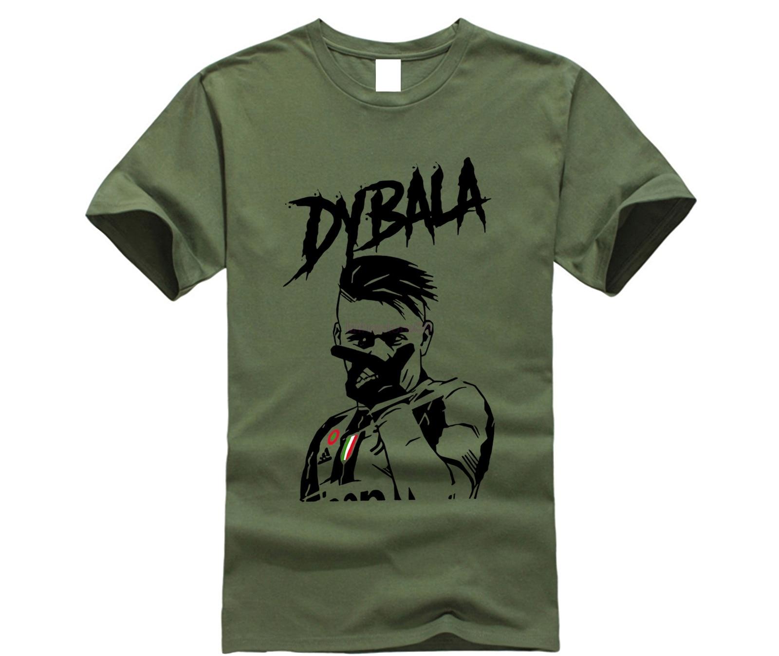 56cbc1825 Buy paulo dybala t shirt and get free shipping on AliExpress.com