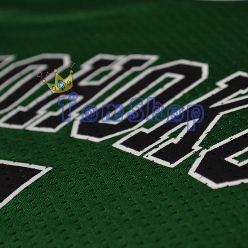 Anime SLAM DUNK Cosplay Costume Shohoku #10 Sakuragi Green Basketball Jersey Tops Shirt Sports Wear Team Uniform Free Shipping