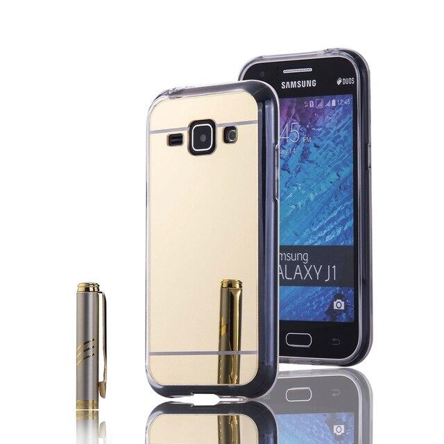 42345f9f912 For Samsung galaxy J1 ACE/J1 mini/J1 Mirror Case Luxury TPU+PC Back Cover Funda  for Samsung galaxy J2/J3/J310/J5/J7 Phone case