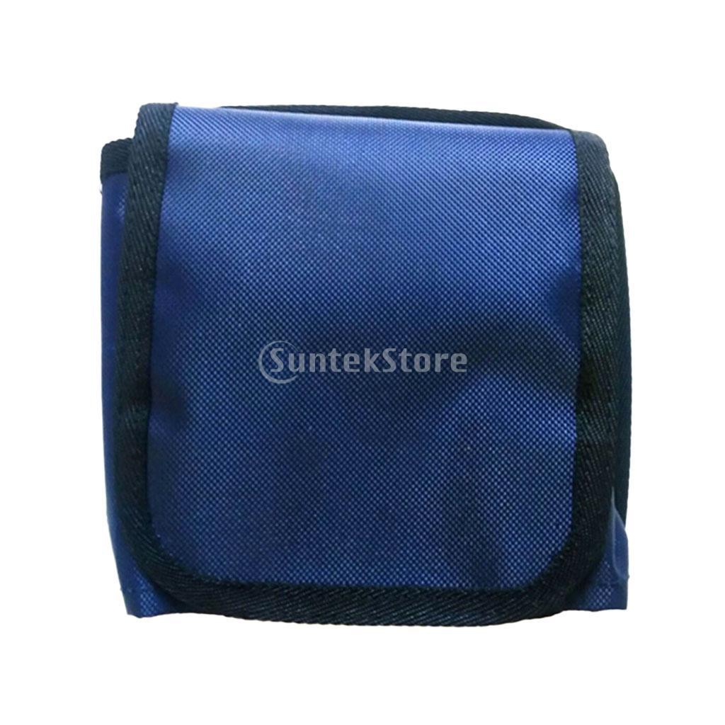 16 X 16cm Scuba Diving Spare Weight Belt Pockets - Blue