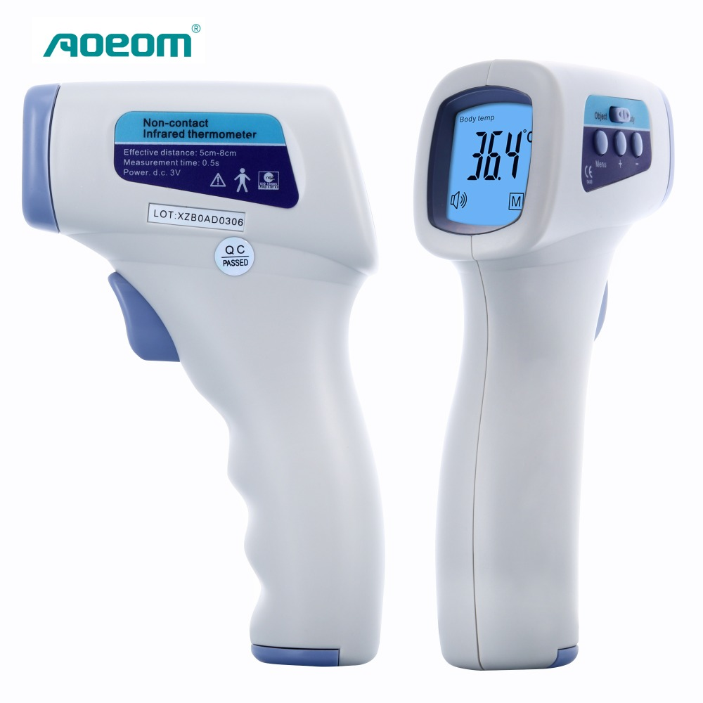 Household Health Monitor Thermometer , Non Contact Digital Multi-function Laser Infrared IR  Forehead Thermometers  Gun tasi 8606 infrared thermometer 32 380 degrees infrared thermometer non contact thermometer industrial and household