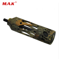 5 Color 5 Inch 7 5 Oz Alloy Aluminum Archery Hunting Adventure Compound Bow Stabilizer For