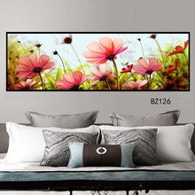 Nordic flower painting posters and prints unique decorative wall art living room bedroom corridor
