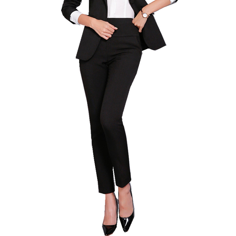 HTB1OfaHSFzqK1RjSZFvq6AB7VXa5 - Office Lady Formal Pants Women High Waist Work Trousers Fashion Casual Autumn Spring Pencil Pants Female Clothing 4XL XXXL