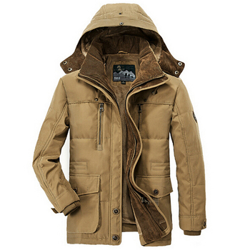 Winter Jacket Men Thicken Warm Military Cotton Padded Jackets Men s Hooded Windbreaker Parkas Plus