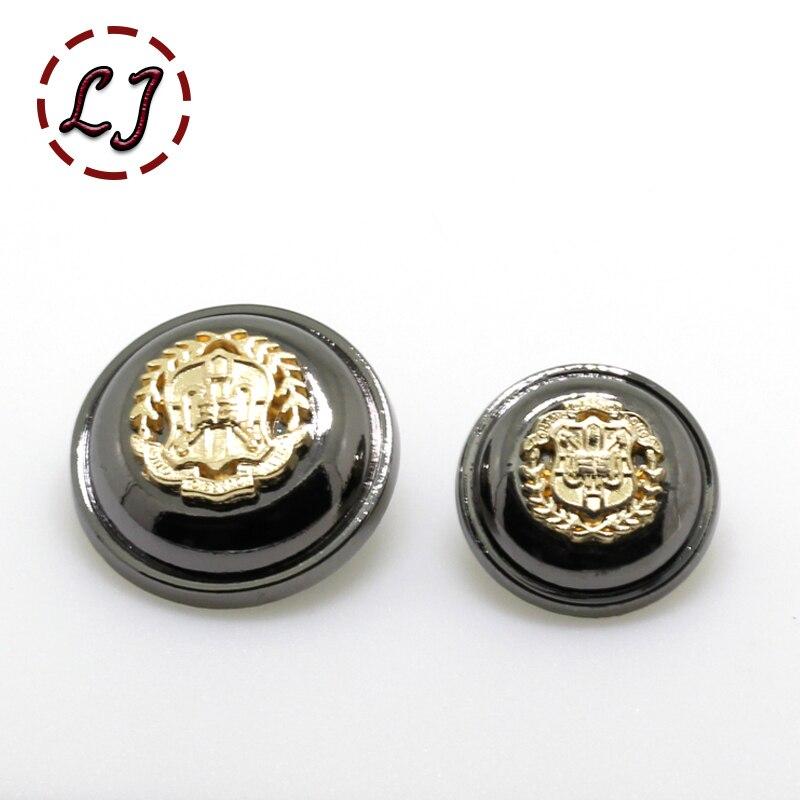 ①Envío libre 10 unids/lote combinado botones de metal de aleación ...