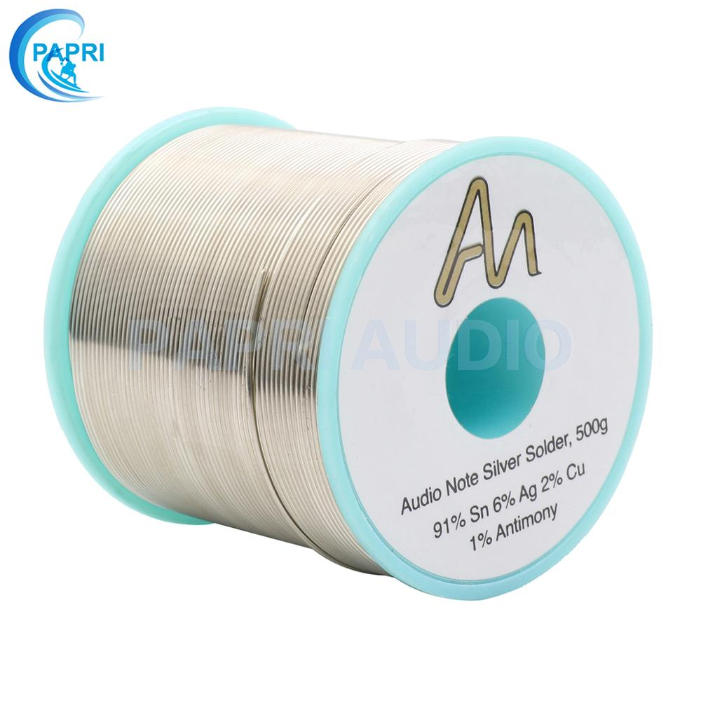 PAPRI Audio Note 1.0MM 6%Ag Silver Solder  UK Solder Wire Soldering Welding Wire