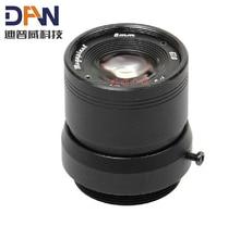 "2MP HD 1/3"" F1.0 CCTV Fixed Iris IR Infrared 8mm Lens CS Mount lense For CCD Camera"
