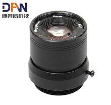 """2MP HD 1/3 """"F1.0 CCTV 固定アイリス Ir 赤外線 8 ミリメートルレンズ CS マウント lense Ccd カメラ"""