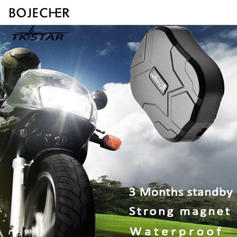Waterproof GPS Tracker Car TK905 TKSTAR GPS Locator Magnet Vehicle Rastreador 5000mAh font b Battery b