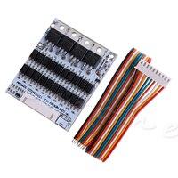Equilíbrio 10 s 36 v li ion lítio célula 40a 18650 bms proteção da bateria pcb placa 10166|Acessórios para baterias| |  -