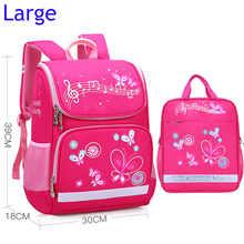 Children School Bags Set For Girls Boys Orthopedic Backpack Cartoon Butterfly Car School Bag Kids Satchel Knapsack Mochila