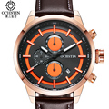 OCHSTIN 2017 New Style Sport Men's Watch Leather Strap Luminous Luxury Watch Men Multifunction Waterproof Male Clock Men Relogio