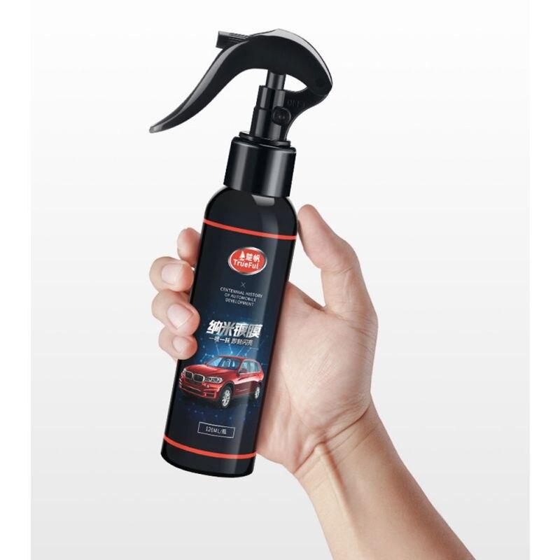 Automobile Coating Agent Brush Car Nano Coating Polishing Spraying Wax Painted Car Care Nano Hydrophobic Coating Rag(China)