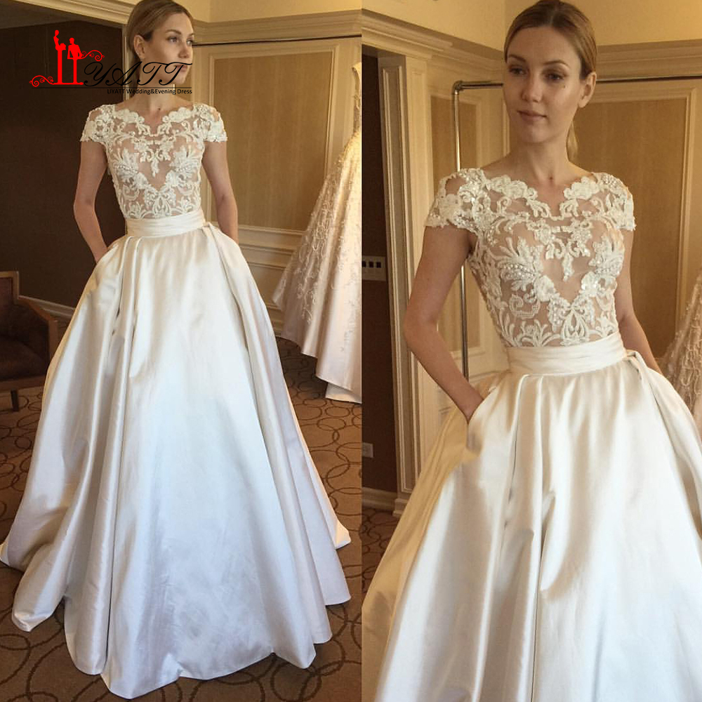Wedding dress with pockets vosoi wedding dress pockets wedding gowns with pockets wedding dresses ombrellifo Choice Image