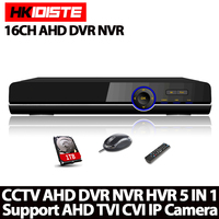 Home Surveillance 16ch DVR HD AHD 1080P 1080N 720P Security CCTV DVR Recorder HDMI 1080P 16