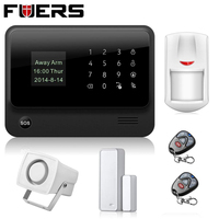 Russian Shipments New WIFI GSM Security Alarm Systems 433MHz Wireless House Security Alarm System IOS Android