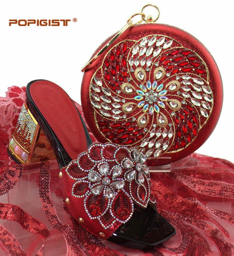 gold Italien sky Or 7 Nigérian royal Africains Black red 5 Blue Et Couleur Mariage Assorti pink Grande Femmes Ensemble Cm Chaussures Sac Blue Pompes De qRwrB7nxq