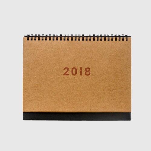 Creative 2018 Simple Desktop Calendar Small Calendar Planning Memo Office Plan Desk Paper Calendar Table Agenda Organizer 2018