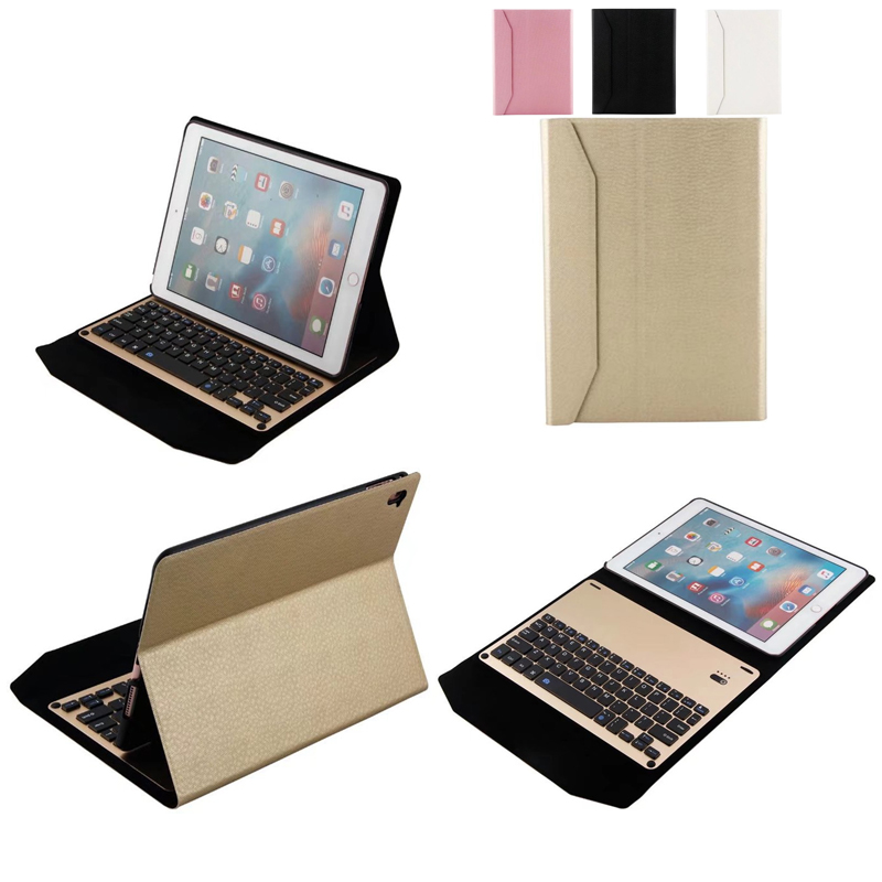 For Apple ipad 2017 A1822 A1823 Tablet Ultra thin aluminum alloy Wireless Bluetooth Keyboard Case  Cover