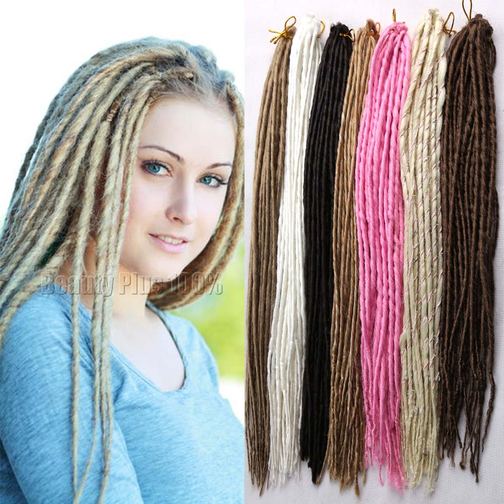 Hairstyles Burgundy Braiding Hair Synthetic 20 100g Pack Faux Locs Crochet Braids Extensions Soft Dread Lock On Aliexpress Alibaba