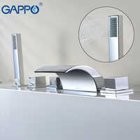 GAPPO robinet de baignoire cascade robinet de baignoire chrome salle de bain robinet de douche robinet baignoire mitigeur robinet baignoire