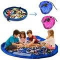 150 CM Portátil Crianças Crianças Infantil Esteira Do Jogo Do Bebê Grandes Crianças Brincam Brinquedos Organizador Saco De Armazenamento De Brinquedos Para Crianças Tapete Tapete PX67