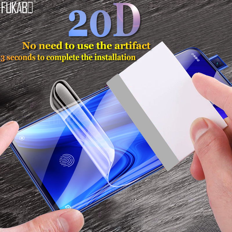Screen-Protector Hydrogel-Film 7-7a not-Glass Note-7 K20-Pro Xiaomi Redmi S2 20D 6 6A