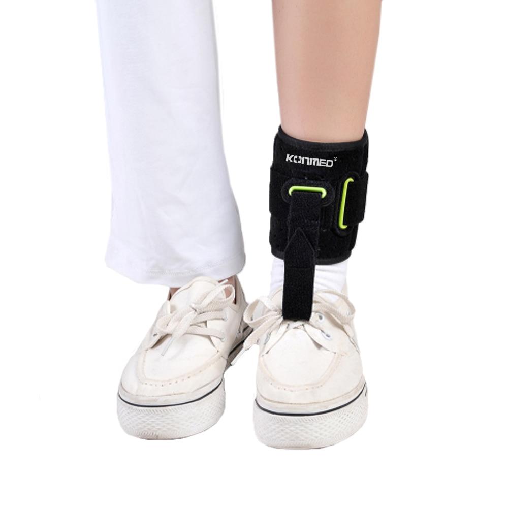 Adjustable Drop Foot Brace AFO AFOs Support Strap Elevator Poliomyelitis Hemiplegia Stroke Universal Size 3