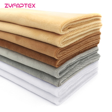 ZYFMPTEX Selling 8Pcs/Lot 4 Colors 100% Polyester Cloth Plush Fabric Tilda Quilting Scrapbooking Patchwork 50*45cm Free Shipping