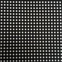 合成pvc黒と白リトルグリッドプリント革素