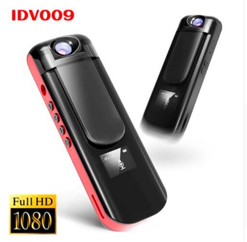 ИДВ 009 мини Камера Запись ручка 1080 P Full HD Спорт видеокамера поверните объектив голос, видео Регистраторы встроенный MP3-плееры мини dvr