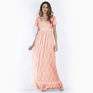 Image 3 - Women Dress Maternity Photography Props Lace Pregnancy Clothes Maternity Dresses for Pregnant Photo Shoot Cloth Plus 2019 New