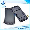 100% original para lg k8 lte k350n k350e k350ds pantalla lcd pantalla táctil con digitalizador con el conjunto del bastidor 1 unidades el envío libre