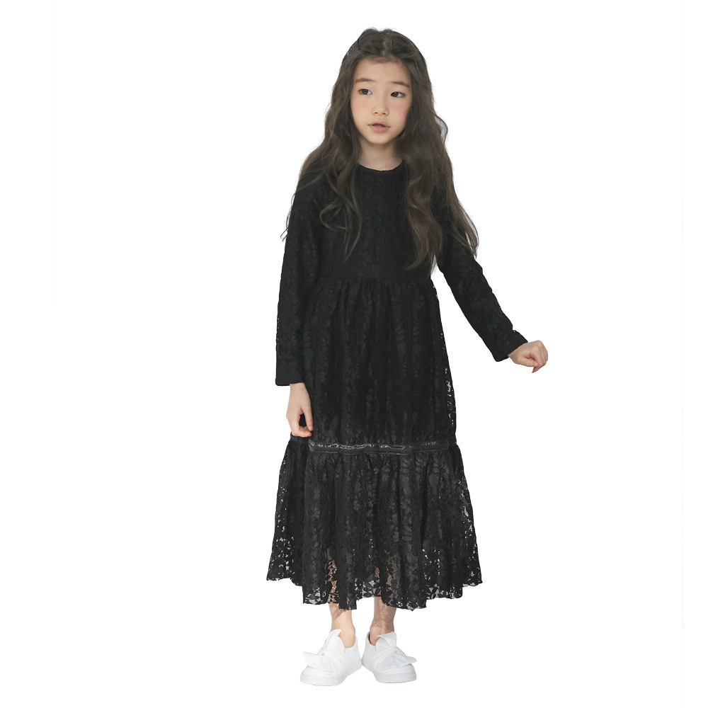 Image 5 - Girls Princess Dress 2020 New Kid Spring Clothes Children Fancy Dress Mother and Kids Dress for Toddler Beautiful Teenage,#5014Dresses   -