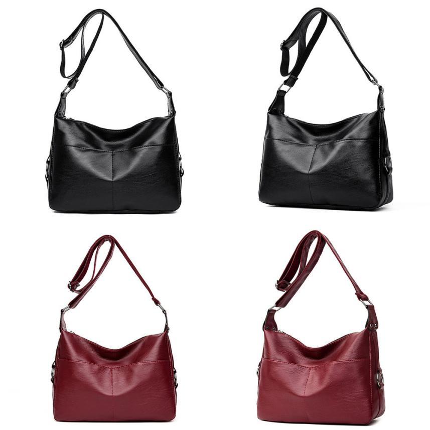 Molave Shoulder Bag new high quality Fashion Pure Color Leather Crossbody Messenger Zipper shoulder bag women ap17