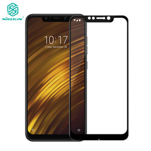 Image 1 - Pocophone F1 Glass Nillkin CP+ 2.5D Full Cover Screen Protector For Xiaomi Pocophone F1 Tempered Glass