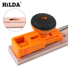 HILDA Woodworking Pocket Hole Jig Kit Angle Drill Guide Set Hole Puncher Locator Jig Drill Bit Set For DIY Carpentry Tools все цены