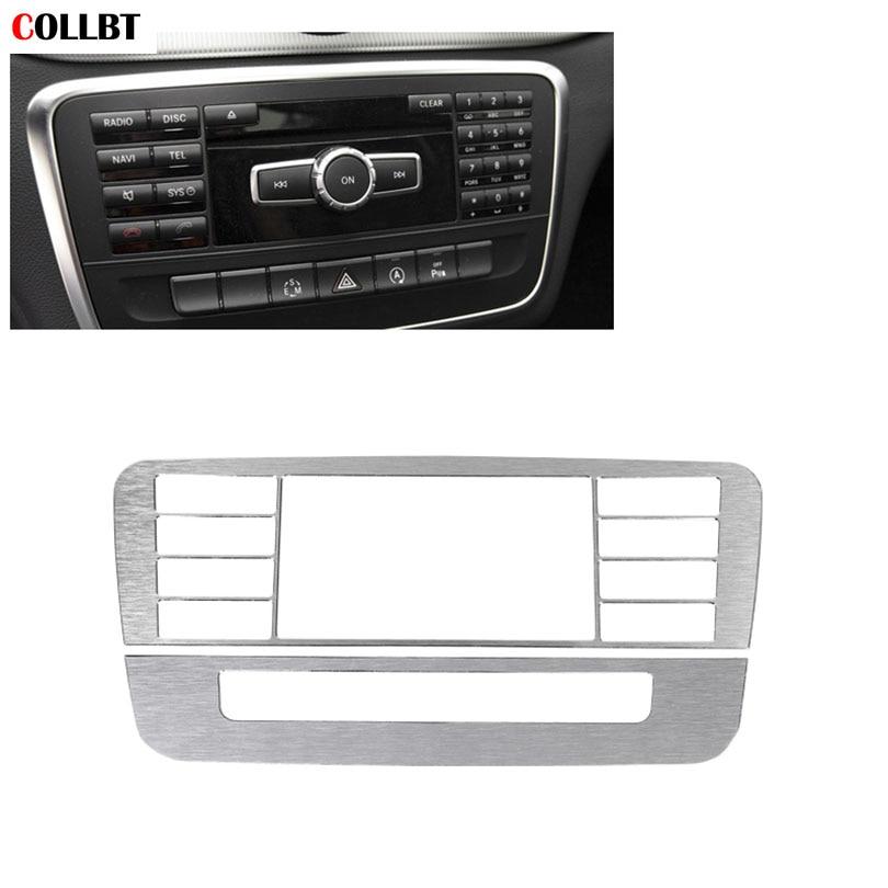 For Mercedes Benz GLA A B Class Center Console CD Panel