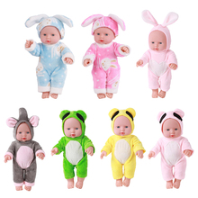 JOCESTYLE 30cm Newborn Baby Doll Simulation Lifelike Doll Toy Soft Vinyl Infant Playmate Education Dolls Birthday Gift for Child hot funny infant baby child simulation doll kids educational developmental early teaching toys education toy doll good gift new