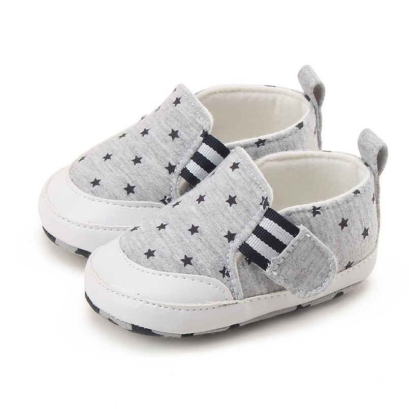 Baby shoes 2019 new Newborn Infant Baby Girl Boy Print Crib Shoes Soft Sole Anti-slip Sneakers Shoes #4M14 (15)