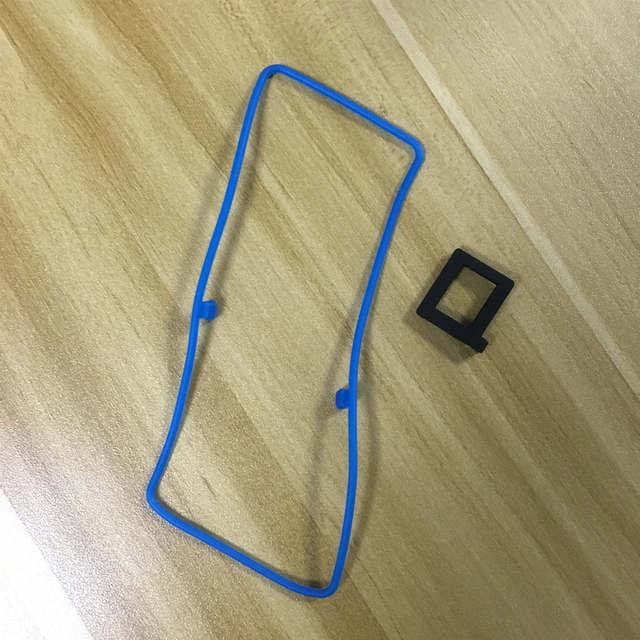 50x de Blauwe en zwarte waterdichte ring voor motorola EP450 EP450S GP3188 GP3688 CP140 CP040 etc walkie talkie
